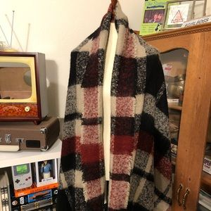 Zara blanket scarf NWT